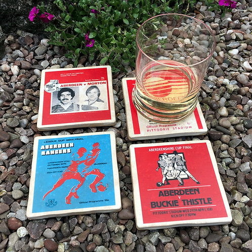 Aberdeen Football Coasters
