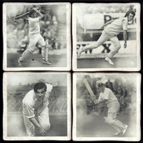 Cricket Coasters - Famous Players