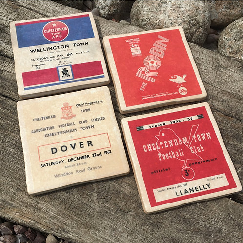 Cheltenham Football Coasters