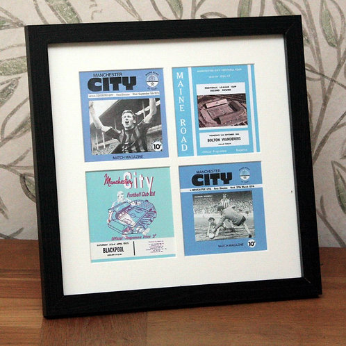 Manchester City Framed Print