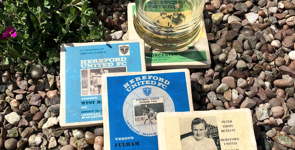 Hereford United Football Coasters