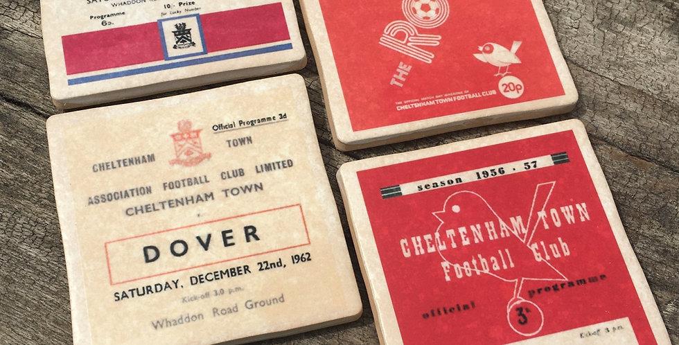 Cheltenham Football Coasters