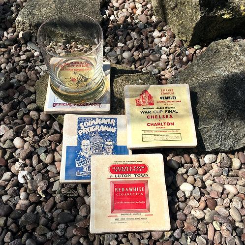 Charlton Athletic Football Coasters