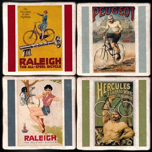 Cycling Coasters - Vintage Posters