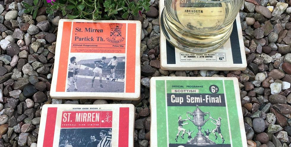 St Mirren Football Coasters