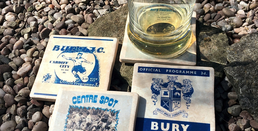 Bury Football Coasters