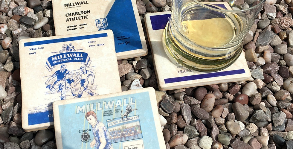 Millwall Football Coasters