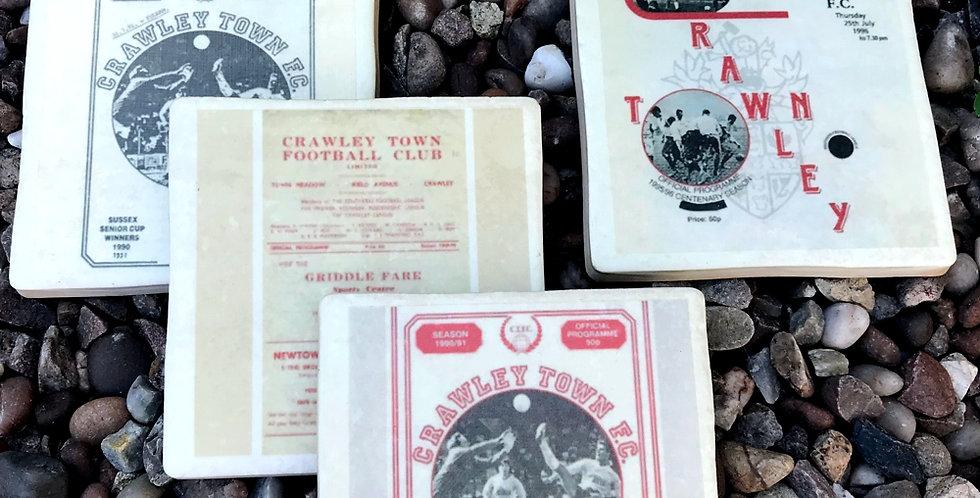 Crawley Town Football Coasters