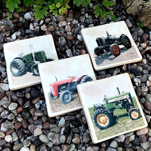 Tractor Coasters