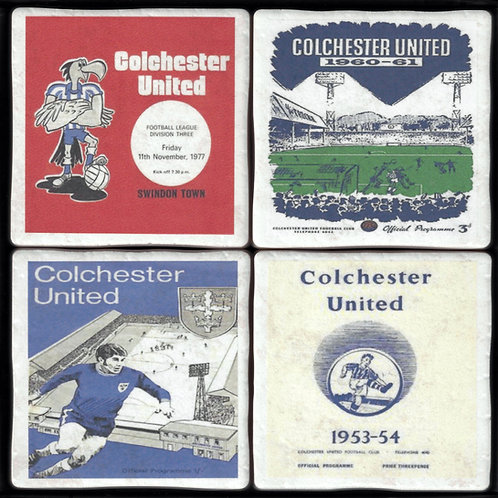 Colchester United Football Coasters