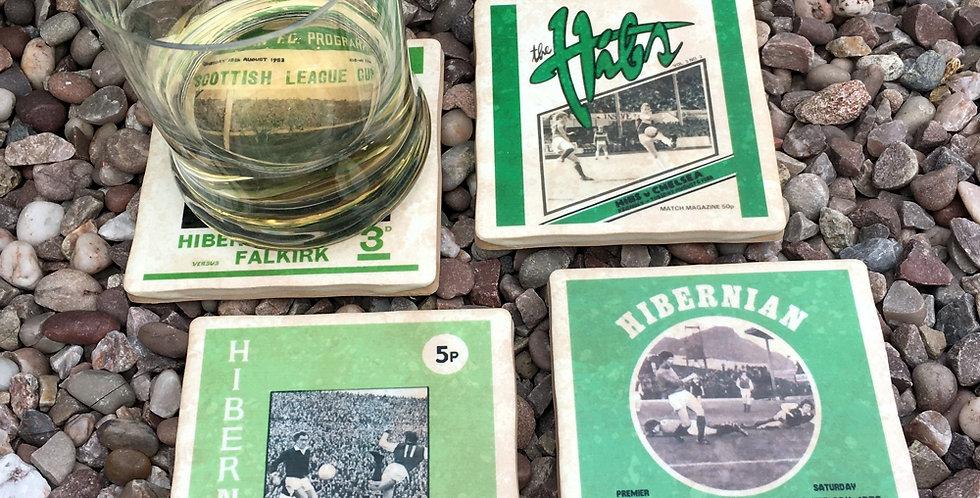 Hibernian Football Coasters