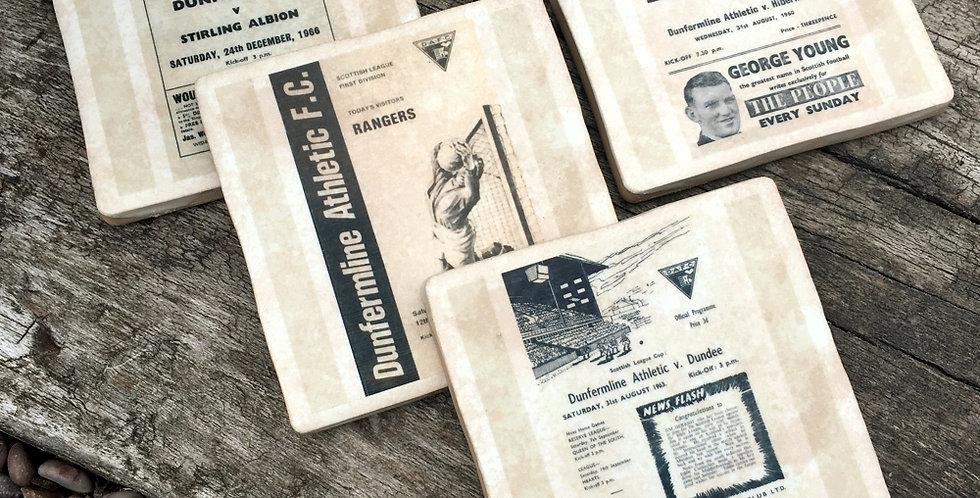 Dunfermline Football Coasters