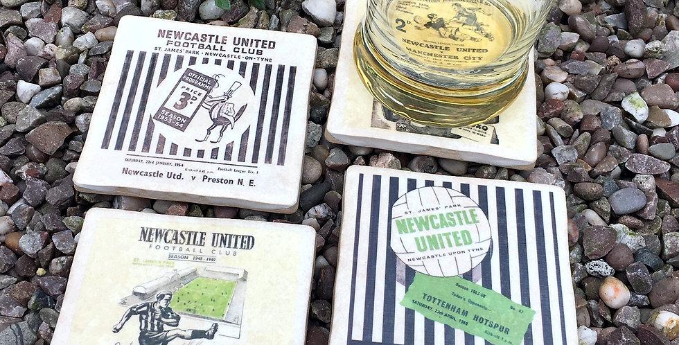 Newcastle United Footabll Coasters
