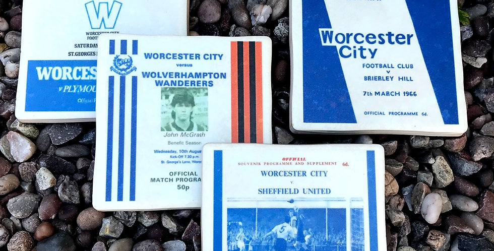 Worcester City Football Coasters