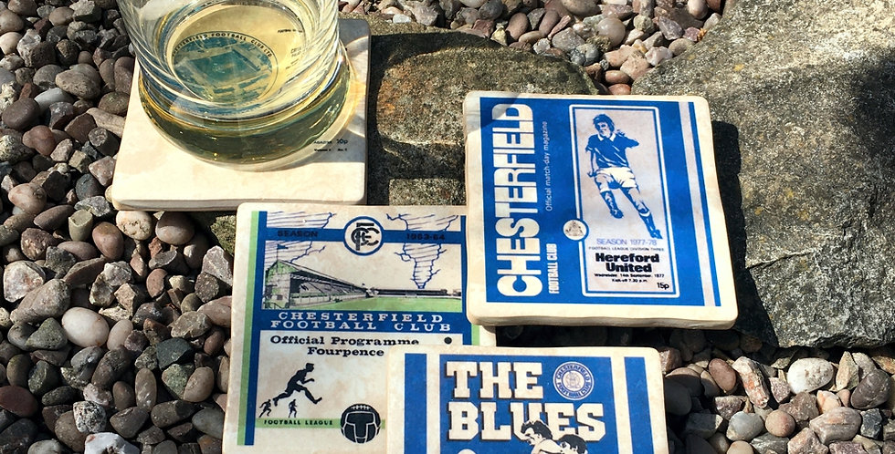Chesterfield Football Coasters