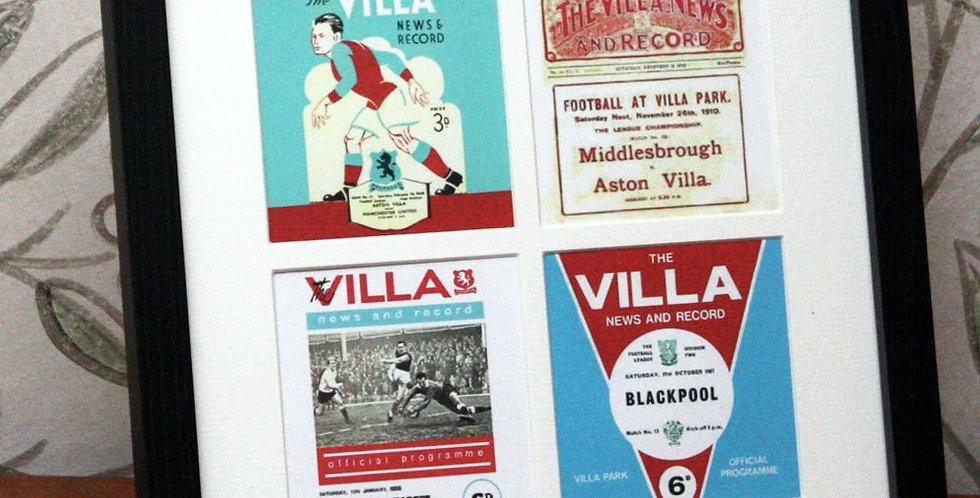 Aston Villa Framed Print