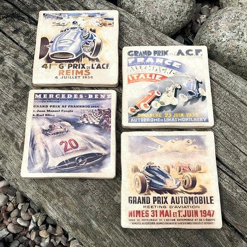 Grand Prix Coasters