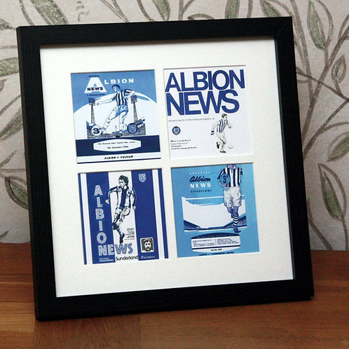 West Bromwich Albion Framed Print