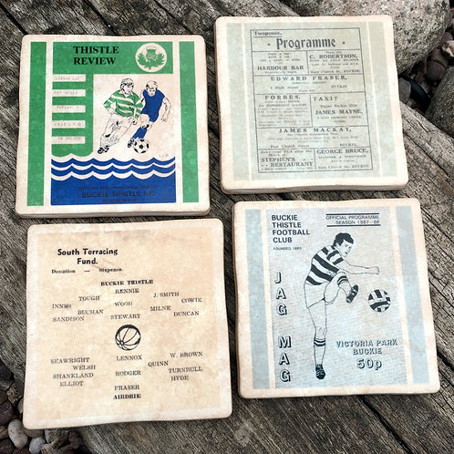 Buckie Thistle Football Coasters