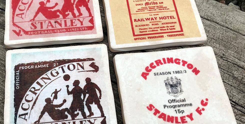 Accrington Stanley Football Coasters