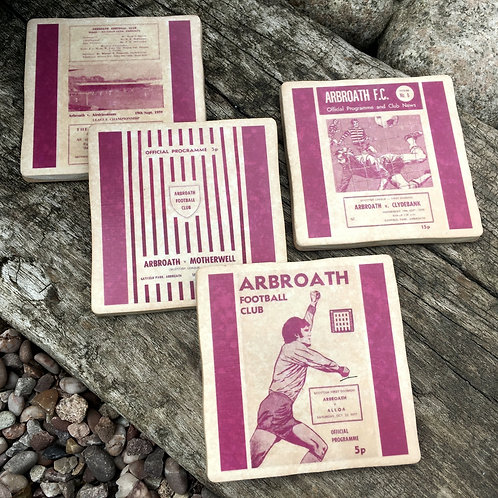 Arbroath Football Coasters