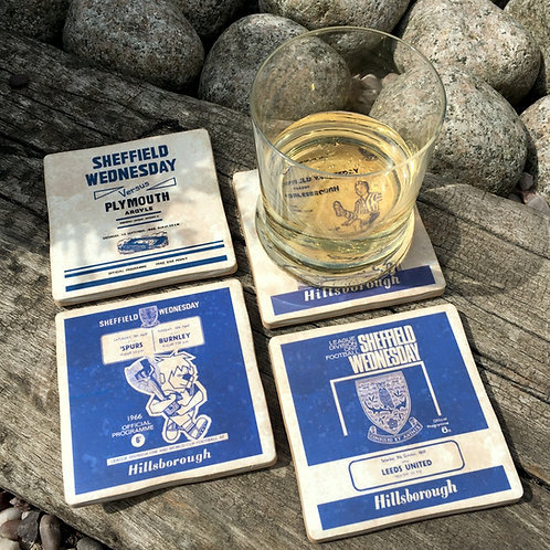 Sheffield Wednesday Football Coasters