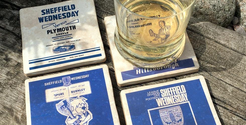 Sheffield Wednesday Football Coasters