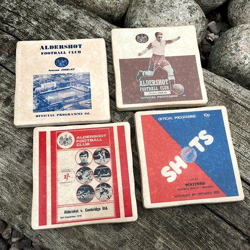 Aldershot Football Coasters