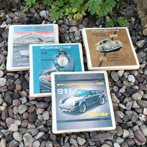 Porsche Coasters
