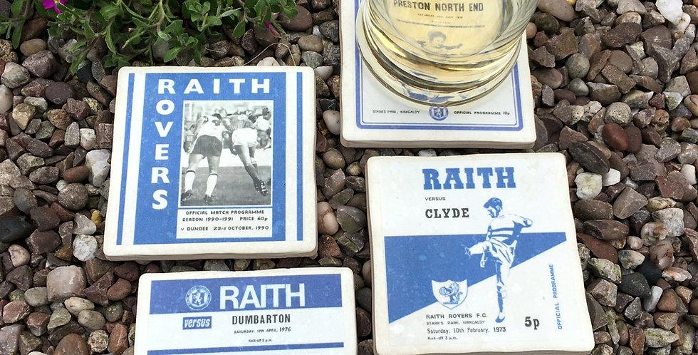 Raith Rovers Football Coasters