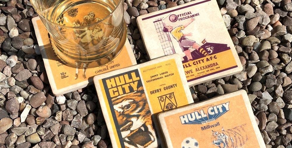 Hull City Football Coasters