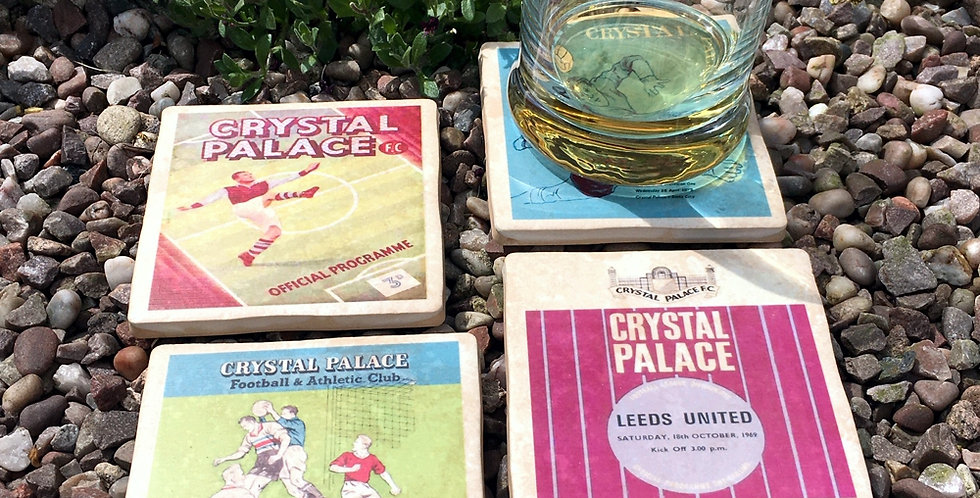 Crystal Palace Football Coasters