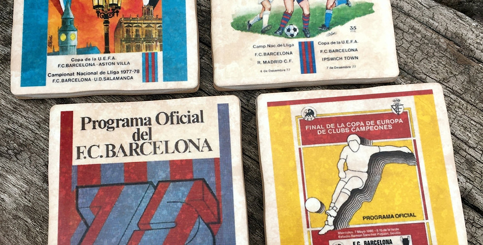 Barcelona Football Coasters