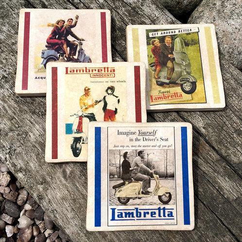 Lambretta Coasters - Scooters