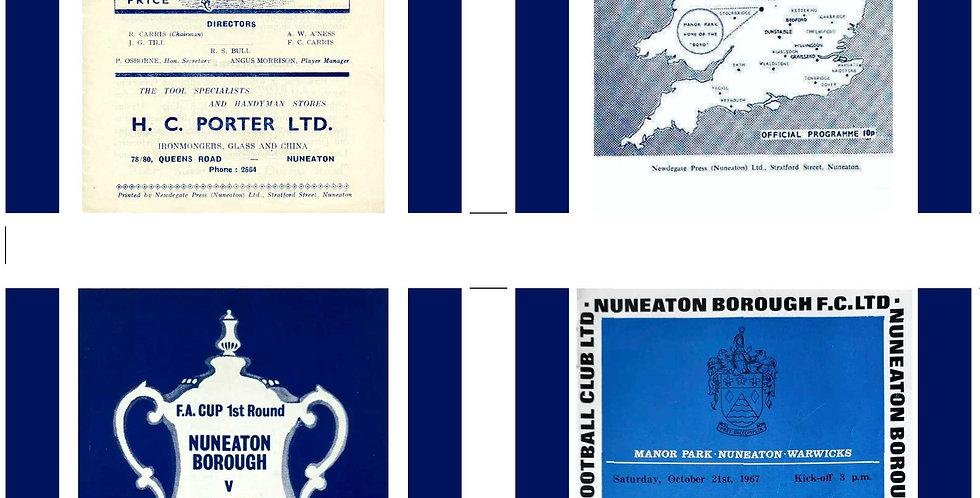 Nuneaton Borough Football Coasters