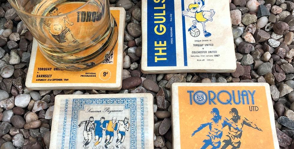 Torquay United Football Coasters