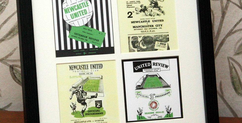 Newcastle United Framed Print