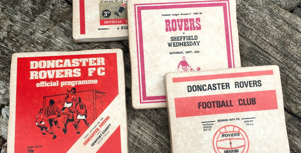 Doncaster Rovers Footbal Coasters