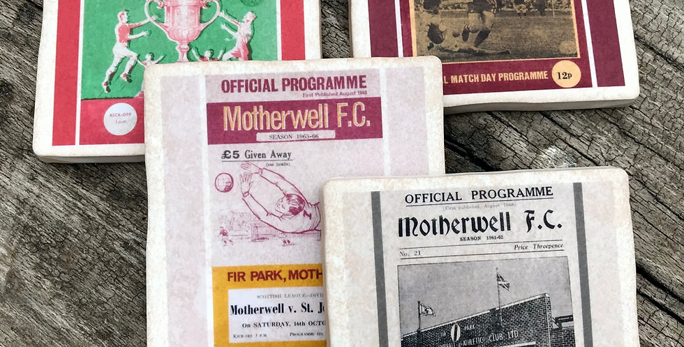 Motherwell Football Coasters