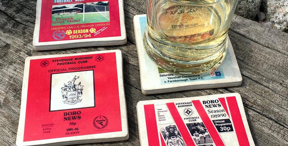 Stevenage Borough Football Coasters