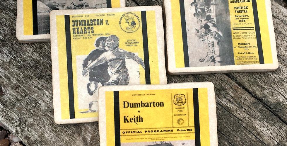 Dumbarton Football Coasters