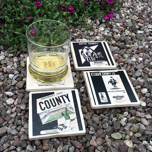 Notts County Football Coasters