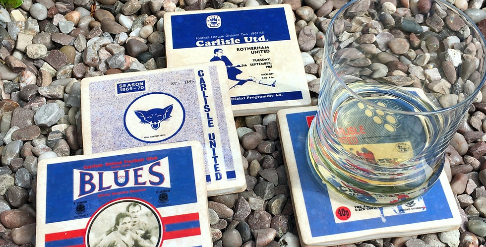 Carlisle United Football Coasters