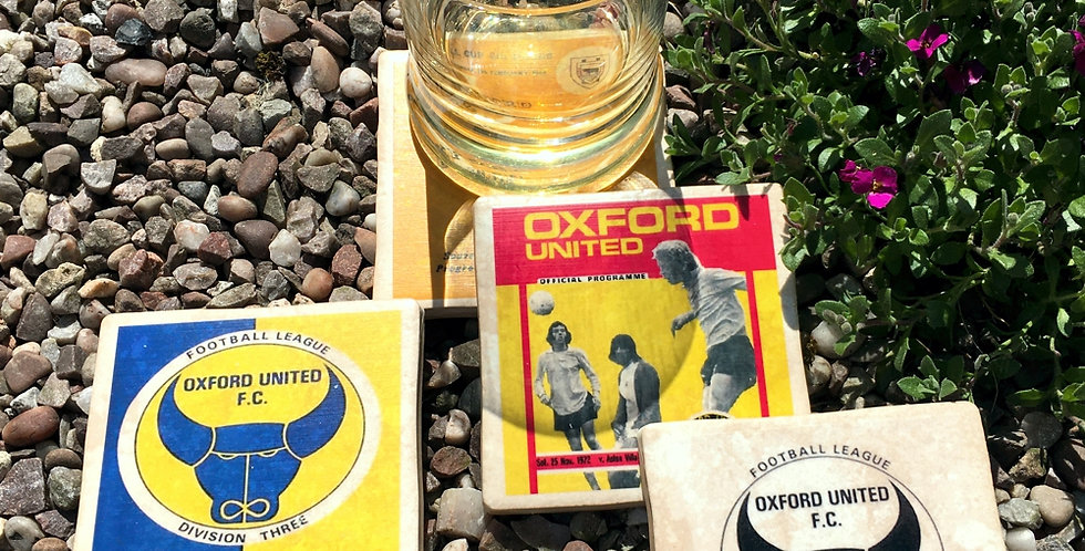 Oxford United Football Coasters