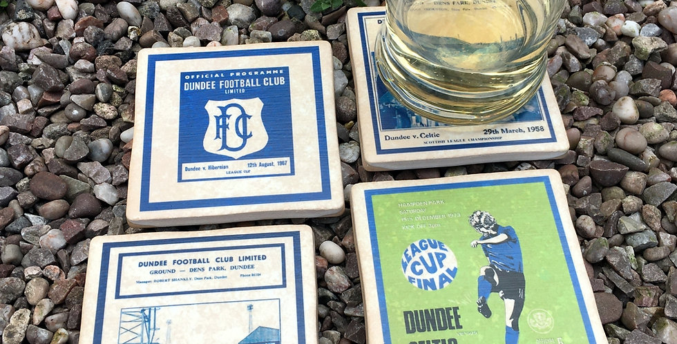 Dundee Football Coasters