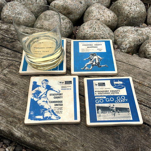 Stockport County Football Coasters