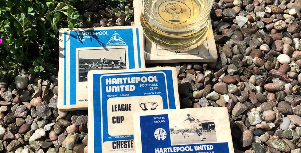 Hartlepool Football Coasters