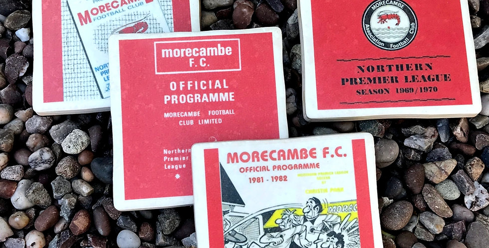 Morecambe Footbal Coasters