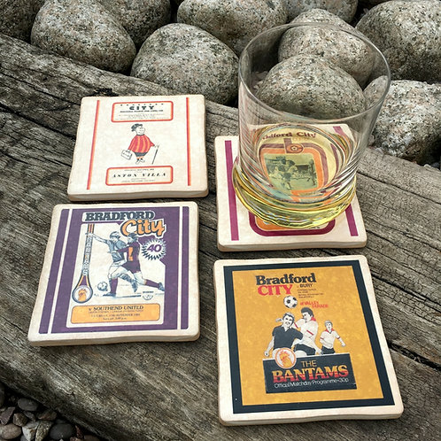 Bradford City Football Coasters