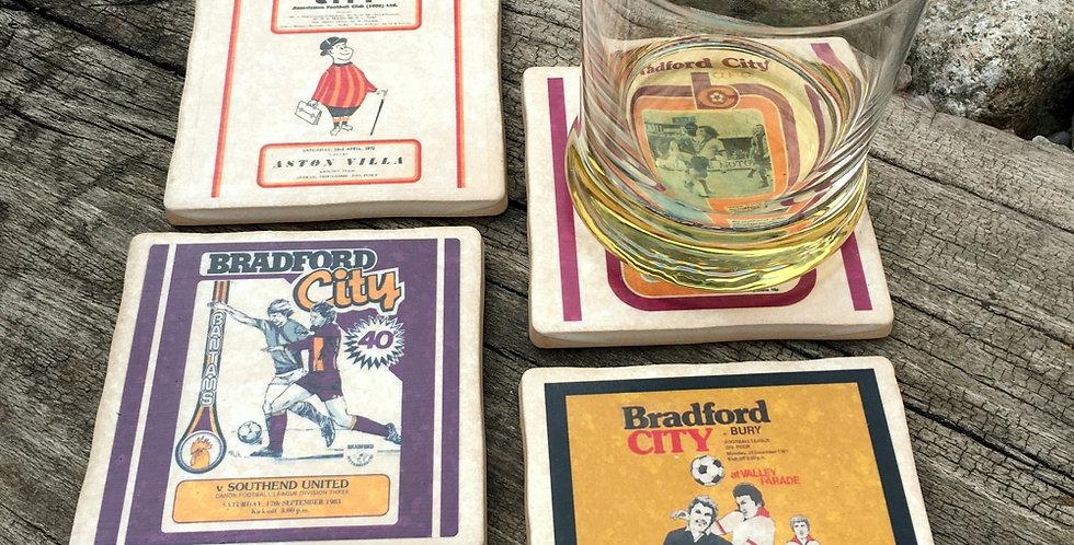 Bradford City Football Coasters